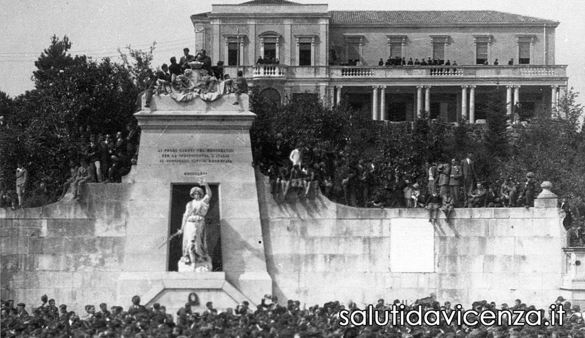 Vicenza, Monumento ai Caduti Italiani del Risorgimento. Piazzale della Vittoria, Monte Berico