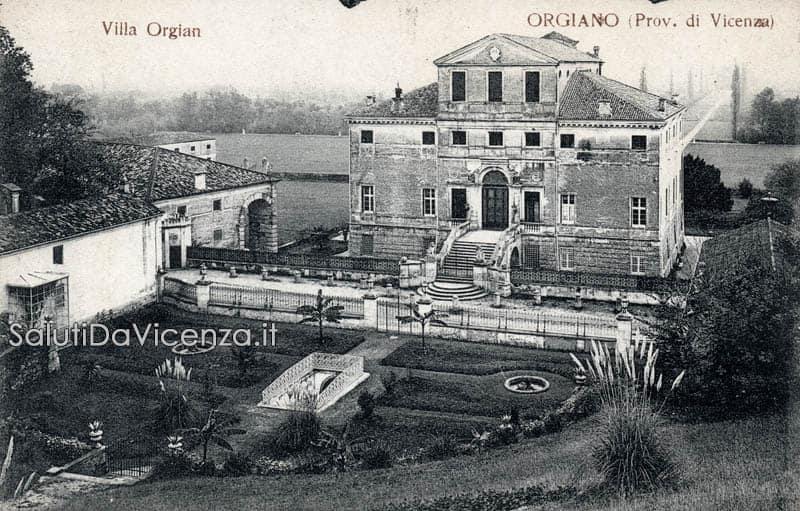 Orgiano, Villa Fracanzan Piovene
